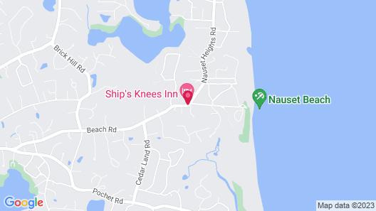Ship's Knees Inn Map