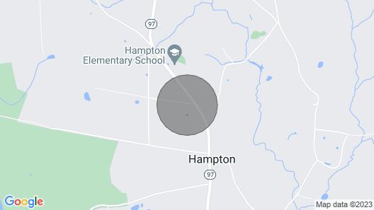 New! Hampton 'quiet Corner Cottage' w/ Fireplace! Map
