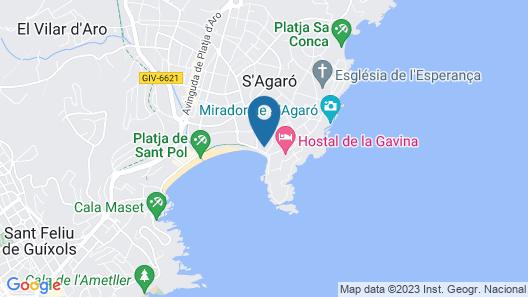 S'Agaró Hotel Spa & Wellness Map