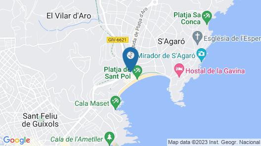 Van Der Valk Hotel Barcarola Map