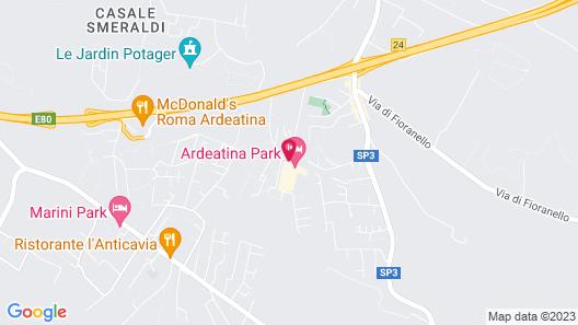 Ardeatina Park Hotel Map