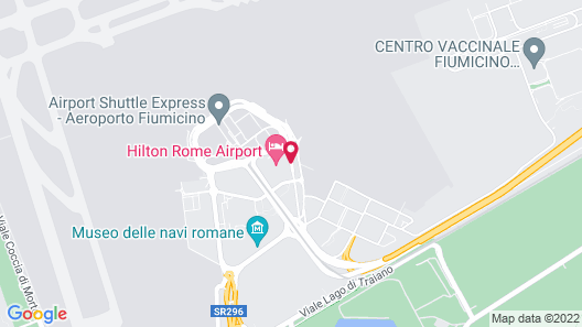 Hilton Rome Airport Map