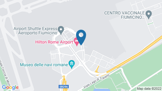 Hilton Rome Airport Map