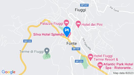 Silva Hotel Splendid Congress & Spa Map