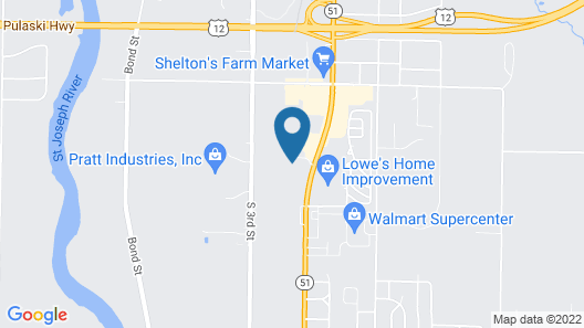 Holiday Inn Express Hotel & Suites Niles, an IHG Hotel Map