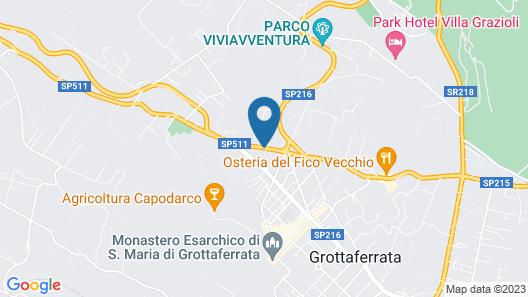 Park Hotel Villaferrata Map