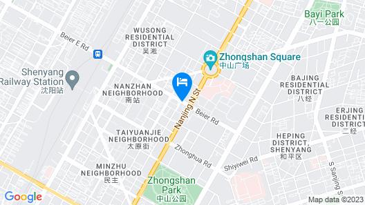 Le Meridien Shenyang, Heping Map