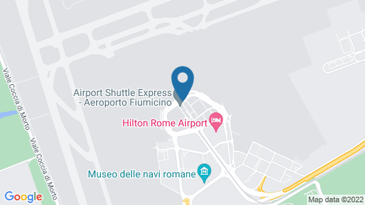 Air Rooms Rome Airport by HelloSky Map