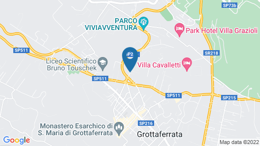 Grand Hotel Villa Fiorio Map