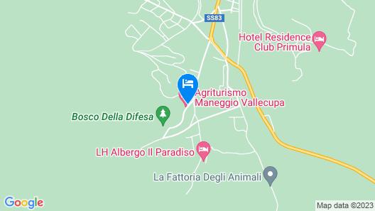 Agriturismo Maneggio Vallecupa Map
