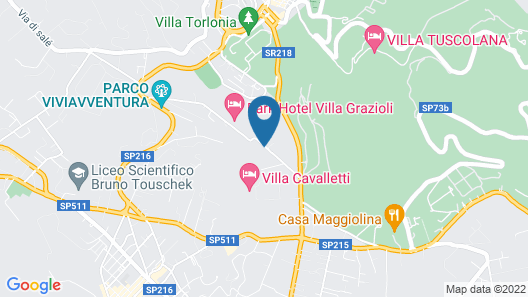 Frascati Country House Map