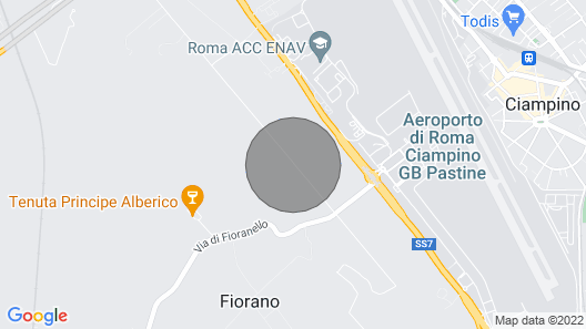 Rome Apartment With a Park Map