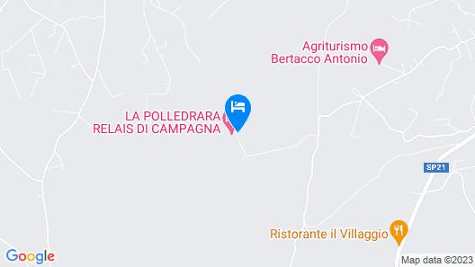 Agriturismo La Polledrara Map