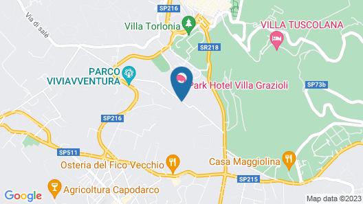 Le Scuderie di Villa Montalto Map