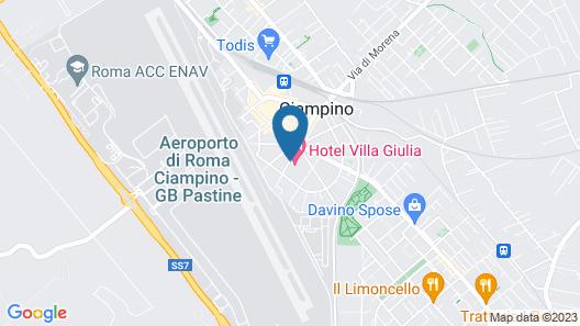 Hotel Villa Giulia Map
