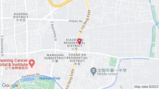 Shenyang Pangjiang Hotel Map