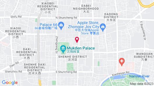 72 Inn Shenyang Dayuecheng D1 Map