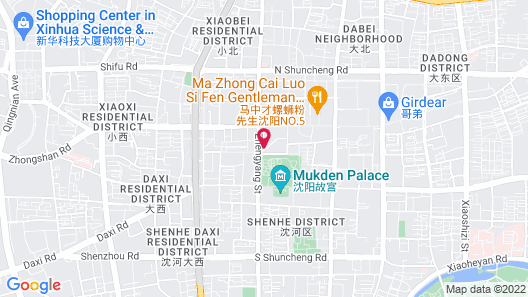 Jinjiang Inn Shenyang Palace Museum Map