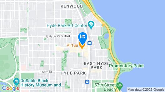 Hyatt Place Chicago-South/University Medical Center Map