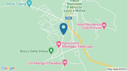 Albergo Paradiso Map