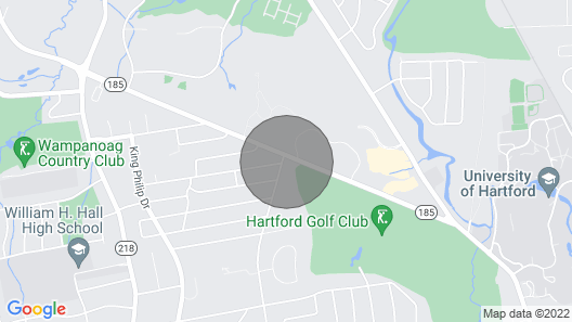 West Hartford furn rm pvt. bth. near UHART, CIGNA & dwtn Htfd., Sims. PW Map