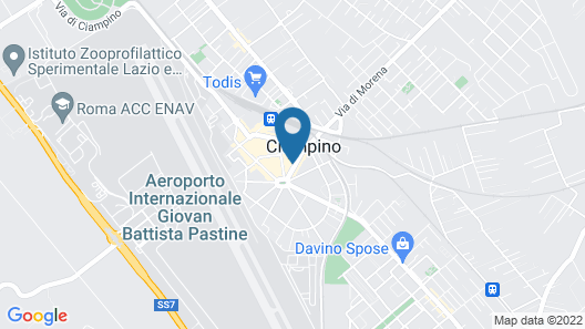 Plaza Rooms Ciampino Map