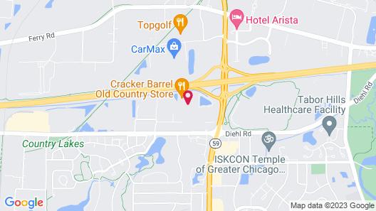 Fairfield Inn & Suites by Marriott Chicago Naperville/Aurora Map