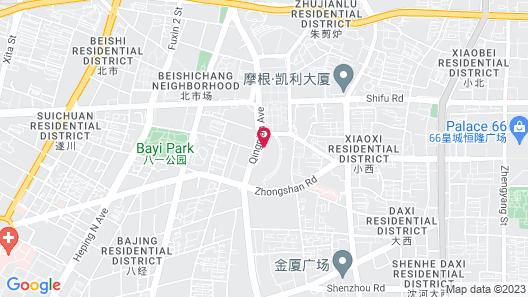 Conrad Shenyang Map