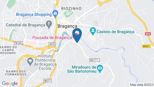Pousada de Bragança - São Bartolomeu Map