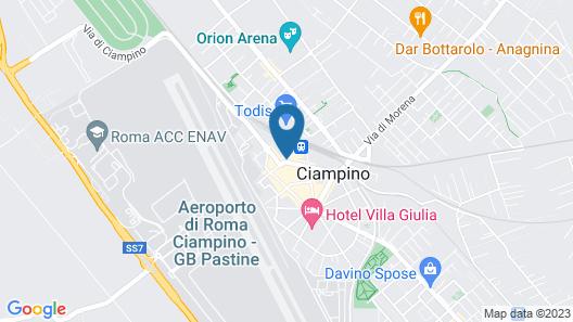 Adriatic Room Ciampino Map
