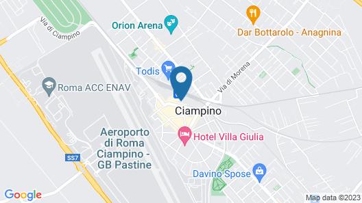 Interno 1 Ciampino Map