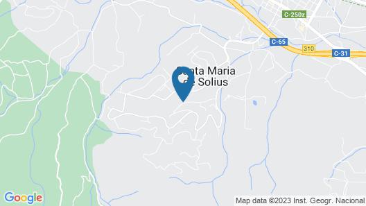 RV Hotels Golf Costa Brava Map
