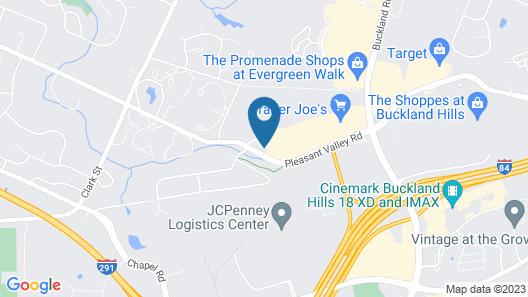Hampton Inn & Suites Hartford-Manchester, CT Map