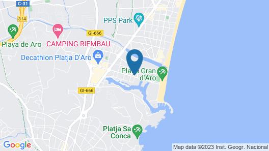 Apartaments Margarita Sabina Pinell Map