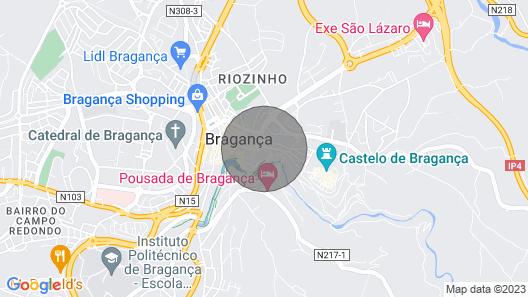 Secret Garden, Alojamento no Centro Histórico de Bragança Map