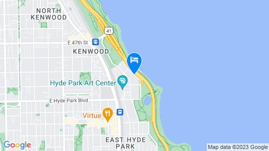 Best Western Plus Hyde Park Chicago Hotel Map