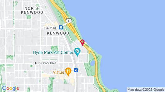 Chicago Lake Shore Hotel Map
