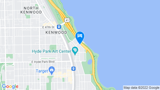 Chicago Lake Shore Hotel Map