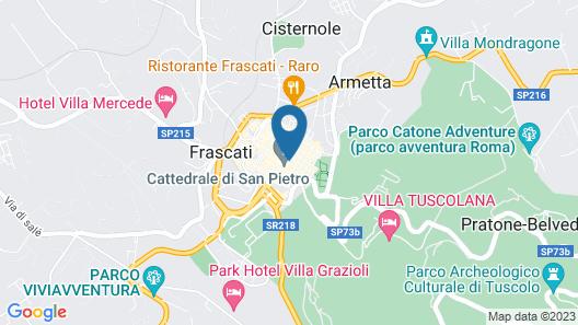 Antica Terrazza Frascati Map