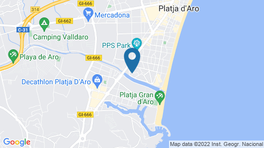Rv Hotels Apartamentos Benelux Map