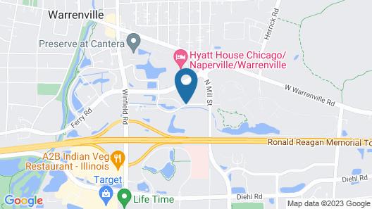Residence Inn by Marriott Chicago Naperville/Warrenville Map