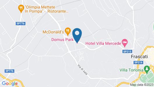 Domus Park Hotel Map