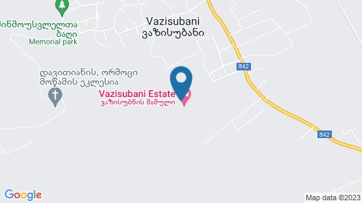 Vazisubani Estate Map