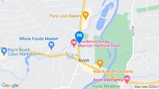 Residence Inn by Marriott Hartford Avon Map