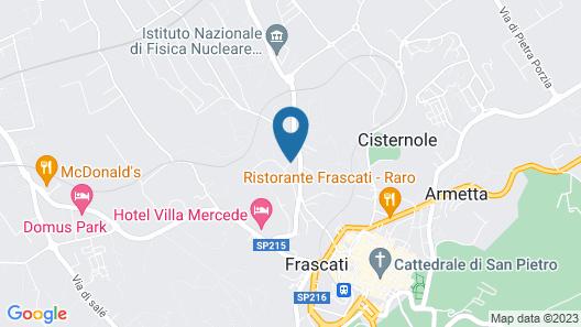 Hotel Antica Colonia Map