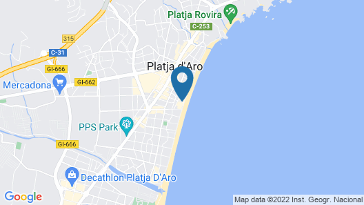 Planamar Map