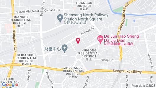 Holiday Inn Express Shenyang North Station, an IHG Hotel Map