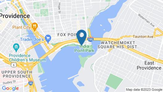 Hilton Garden Inn Providence Map