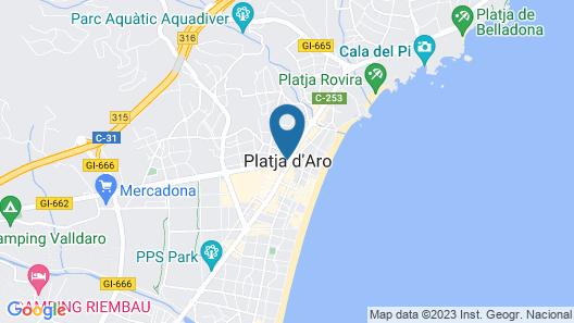 Hotel & Spa La Terrassa Map