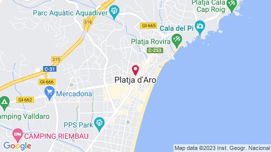 Hotel S'Agoita Map